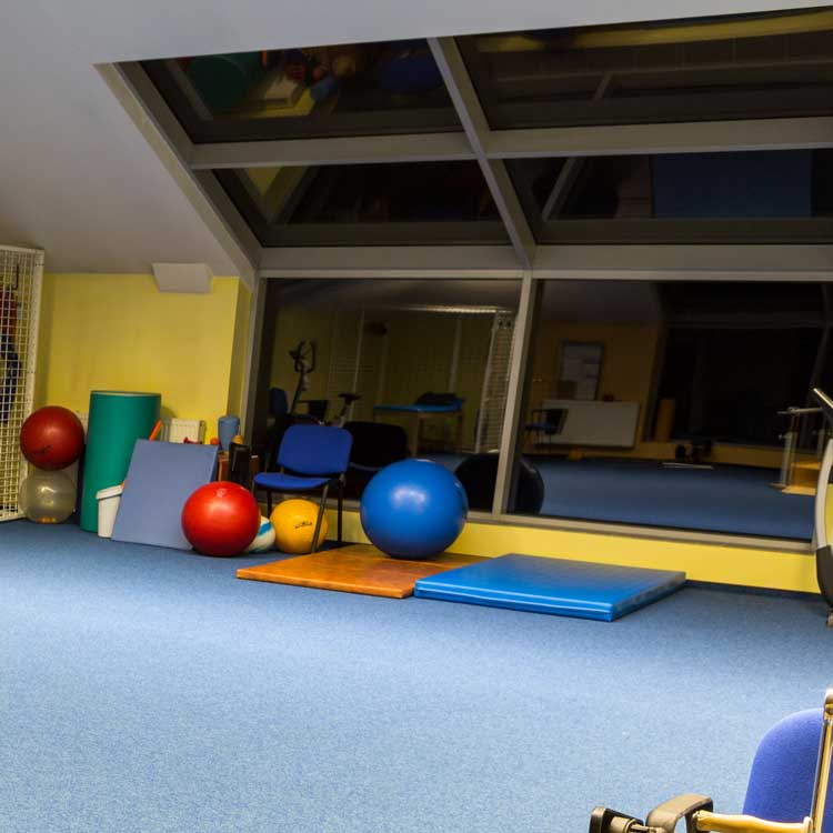 gym for physio therapy